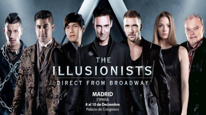 The Illusionists, el mayor espectáculo de magia e ilusionismo llega a Madrid en diciembre.