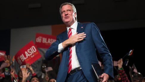 Bill de Blasio, alcalde de Nueva York. (Foto: AFP)