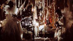 Un momento del espectáculo de la compañía japonesa Circo de sastre. Foto: Ryo Mitamura
