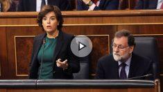 La vicepresidenta del Gobierno, Soraya Sáenz de Santamaría (Foto: Efe)