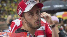 Andrea Dovizioso acude a Cheste sabedor de que sus opciones de lograr el título de MotoGP son bastante escasas. (Getty)