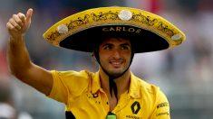 Carlos Sainz ha asegurado estar muy bien en Renault, ignorando los rumores que le sitúan de vuelta en Red Bull en 2019 ante una hipotética marcha de Ricciardo. (Getty)