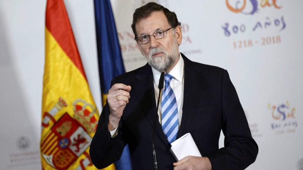 Mariano Rajoy en una reciente imagen (Foto: Efe).