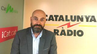 El director de Catalunya Ràdio y socio en los negocios de Puigdemont, Saül Gordillo.