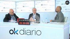 Eduardo Inda, director de OKDIARIO, en el Maratón de entrevistas de 35 horas.