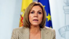María Dolores de Cospedal, ministra de Defensa. (Foto: EFE) | Moción de censura Rajoy