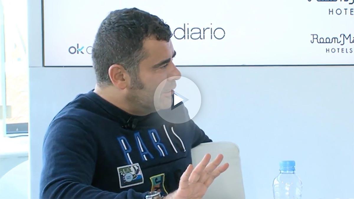 Jorge Javier Vázquez, en la maratón de 35 horas de entrevistas con OKDIARIO.