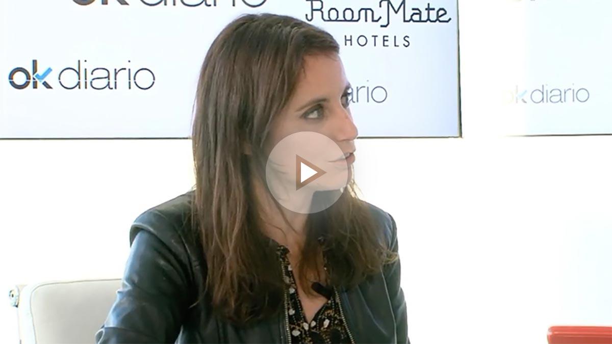 Andrea Levy, en el maratón de entrevistas de 35 horas con OKDIARIO.