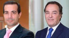 El exconsejero de la Comunidad de Madrid, Salvador Victoria, y el senador del PP, Jaime González Taboada.
