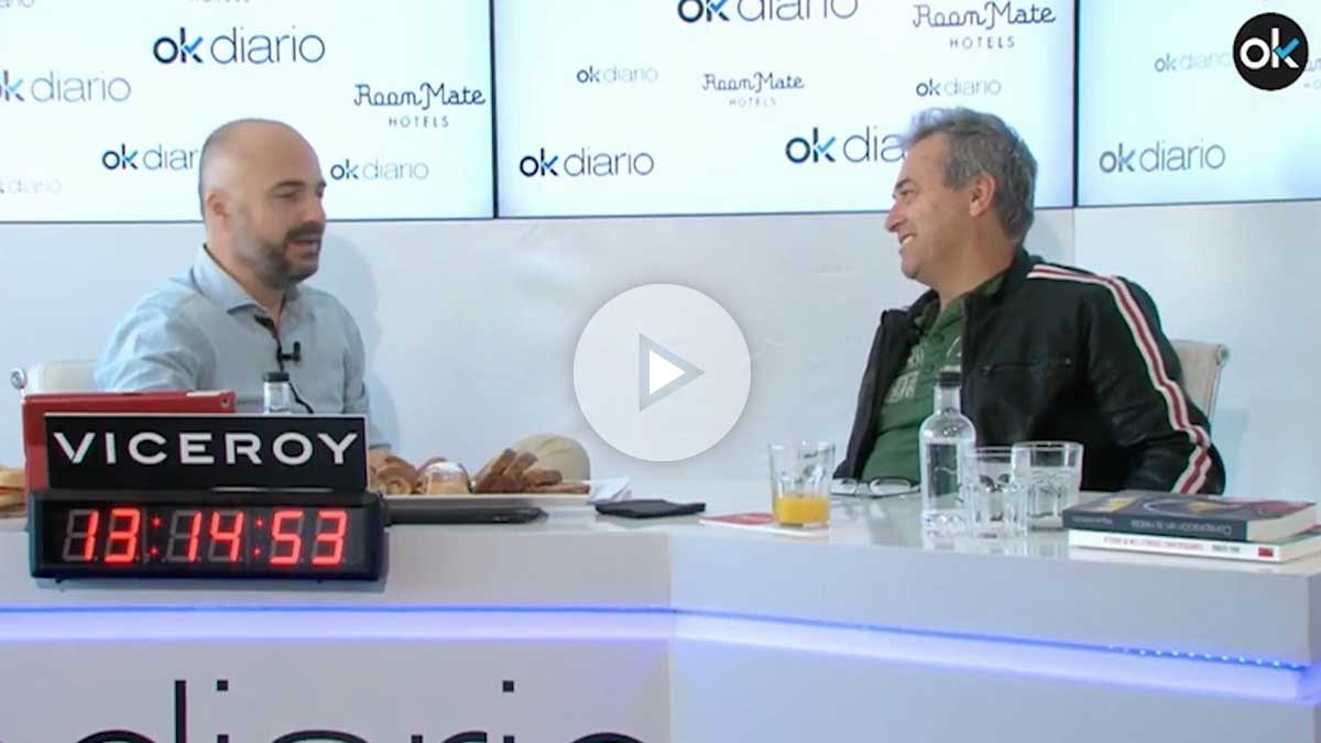 Rafa Gutiérrez, guitarrista de Hombres G, en el maratón de entrevistas '35 horas de palabras'