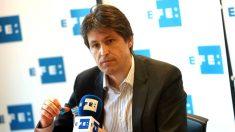 El presidente de Sociedad Civil Catalana, José Rosiñol (Foto: Efe).