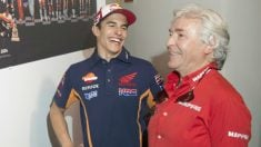 Marc Márquez y Ángel Nieto. (Getty)