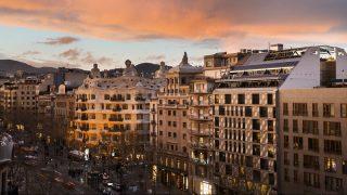 Paseo de Gracia en Barcelona (Foto. Getty)