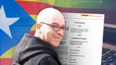 Oriol Soler, encargado de diseñar la estrategia mediática de la independencia de Cataluña.
