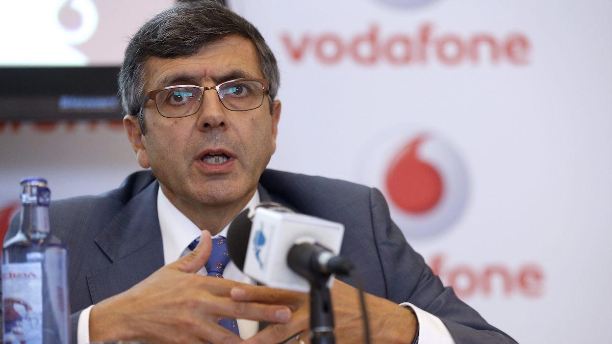 El presidente de Vodafone España, Francisco Román. (Foto: EFE)