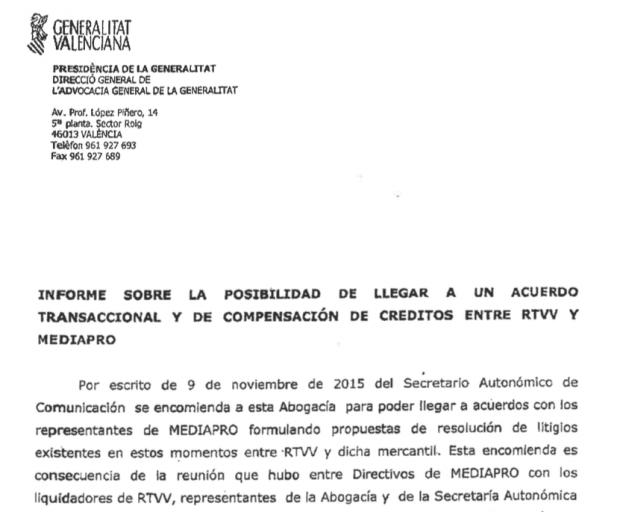 Roures perdona 27 millones al gobierno de Puig para asegurarse el monopolio de la nueva TV valenciana