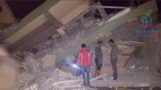 Efectos del terremoto entre Irán e Irak