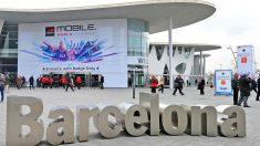 Entrada de una de las ediciones del MWC en Barcelona (Foto. Getty)