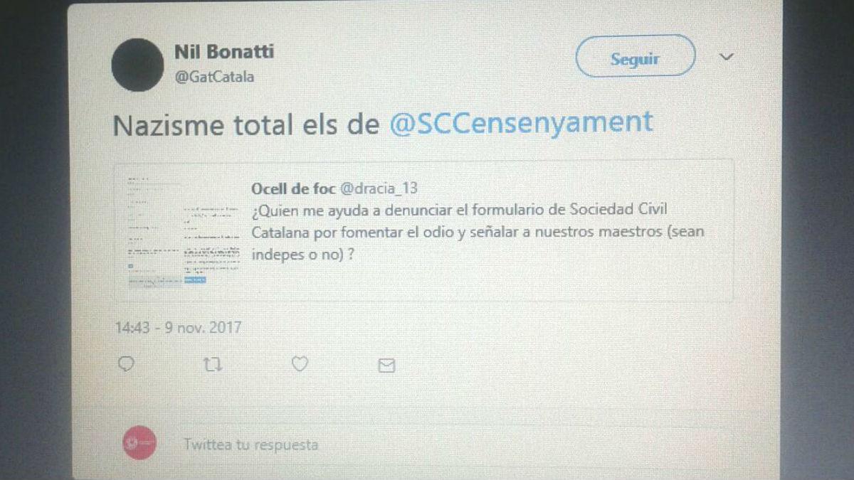 Los separatistas llaman a llenar de pruebas falsas el informe de Sociedad Civil Catalana sobre el adoctrinamiento escolar en Cataluña