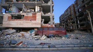 Así ha quedado Saporl-e-Zahab, en la región iraní fronteriza con Irak, tras el terremoto. (AFP)