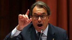 El expresidente de la Generalitat de Cataluña, Artur Mas