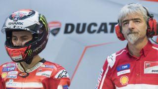 Gigi Dall'Igna, máximo responsable de Ducati en MotoGP, ha defendido a Jorge Lorenzo tras incumplir éste las órdenes de equipo dadas en Cheste. (Getty)