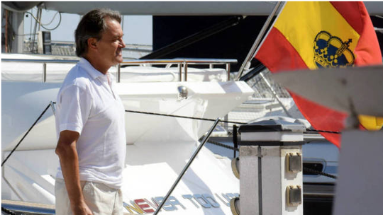 Artur Mas en Baleares (Foto Twitter)