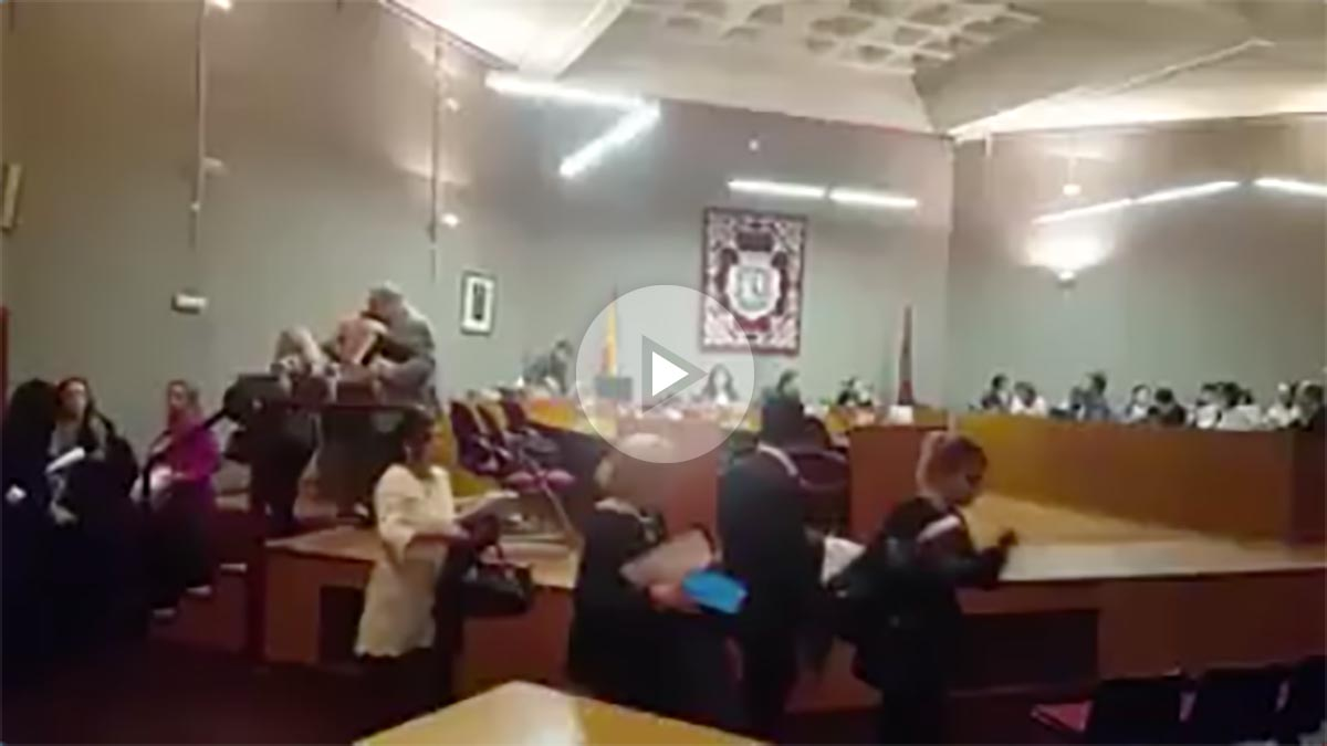 Pleno en Chamartín