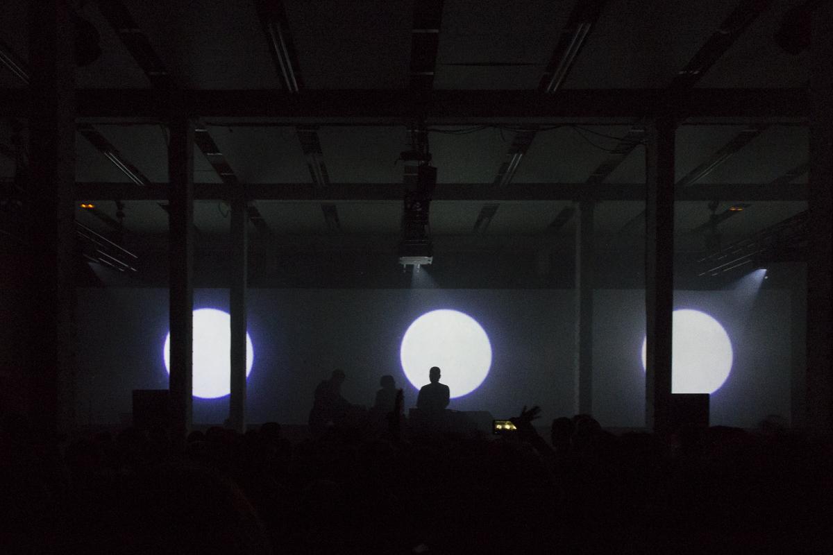 Emptyset en el festival MIRA 2017. Foto: Patricia Nieto Madroñero
