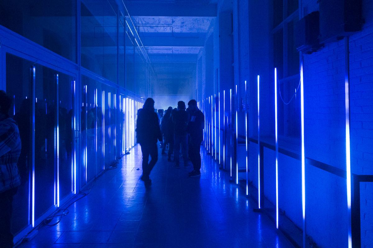La instalación 'Heaven or Hell' en el festival MIRA 2017. Foto: Patricia Nieto Madroñero