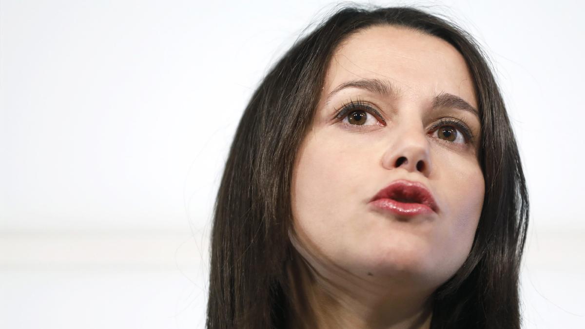 Inés Arrimadas, portavoz de Ciudadanos y líder del partido en Cataluña. (Foto: EFE)
