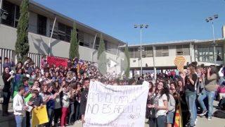 El cargo que inyecta separatismo en la escuela balear logró el récord de menores en un vídeo adoctrinador