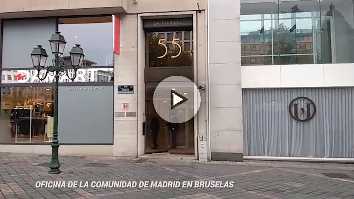 Oficina de Madrid en Bruselas.