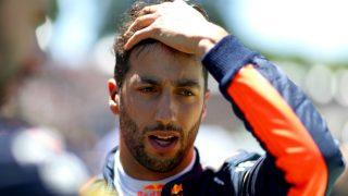 Daniel Ricciardo ha vuelto a mostrar su deseo de recalar en Ferrari, asegurando además que no cree que Sebastian Vettel le quiera como vecino de box. (Getty)