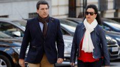 David Marjaliza y su secretaria Ana María Ramírez (Foto: Efe).
