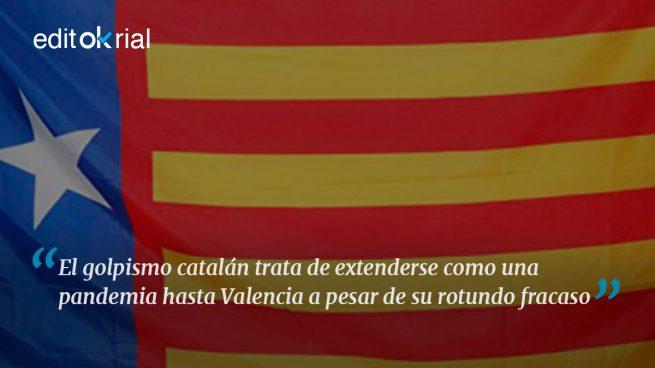 El golpismo catalán a la conquista de Valencia