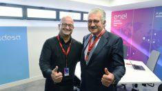 Ernesto Ciorra, director general de innovación y sostenibilidad de Enel José Bogas, consejero delegado de Endesa.