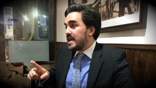 Gabriel Santos, candidato del CD colombiano a la Cámara de Representantes. (OKD)