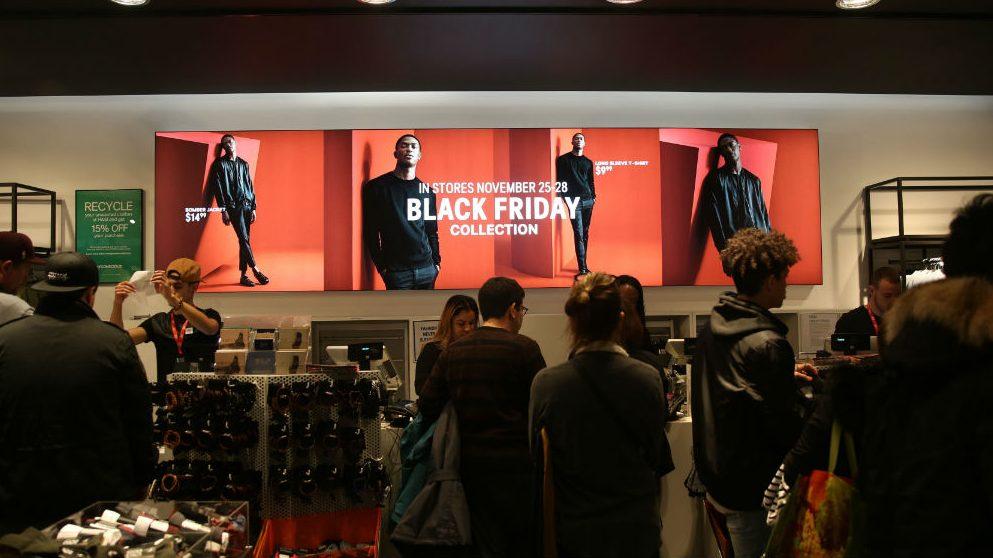 Black Friday: los repartidores no dan a basto (Foto:Getty)