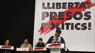 Ramón Font en un acto de ANC