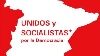 Logotipo de Unidos y Socialistas+ por la Democracia