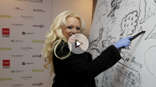 Anita Yess, doble oficial de Pamela Anderson (Foto: Francisco Toledo).