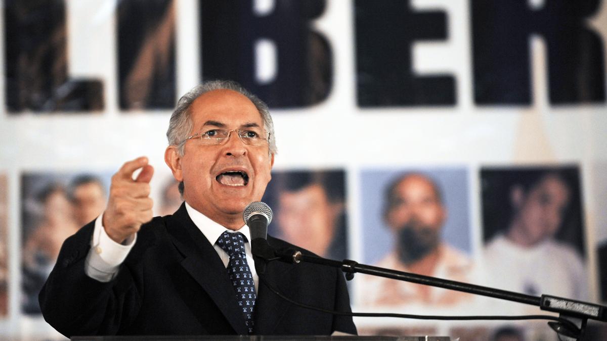 Antonio Ledezma. (Foto: AFP)