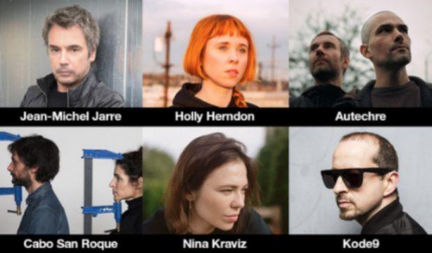 Seis de los 18 artistas seleccionados para la primera de las tres transmisiones de 'Sónar Calling GJ273b'.