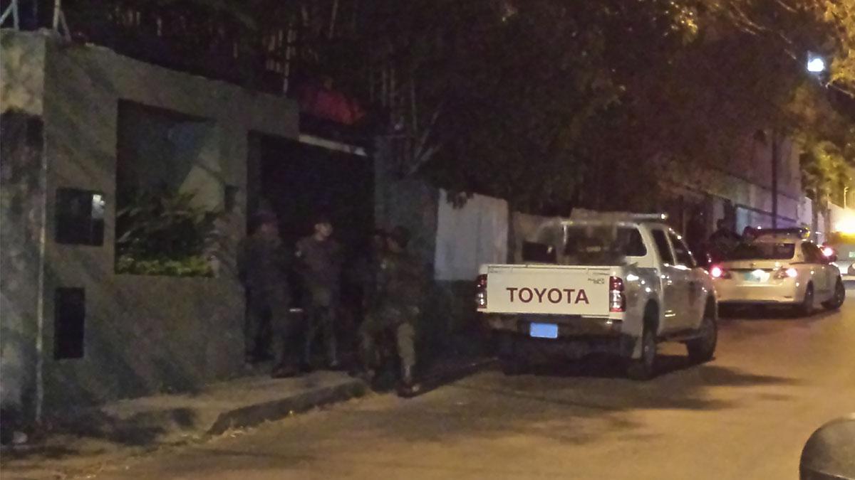 Casa donde Leopoldo López cumple arresto domiciliario en Caracas.