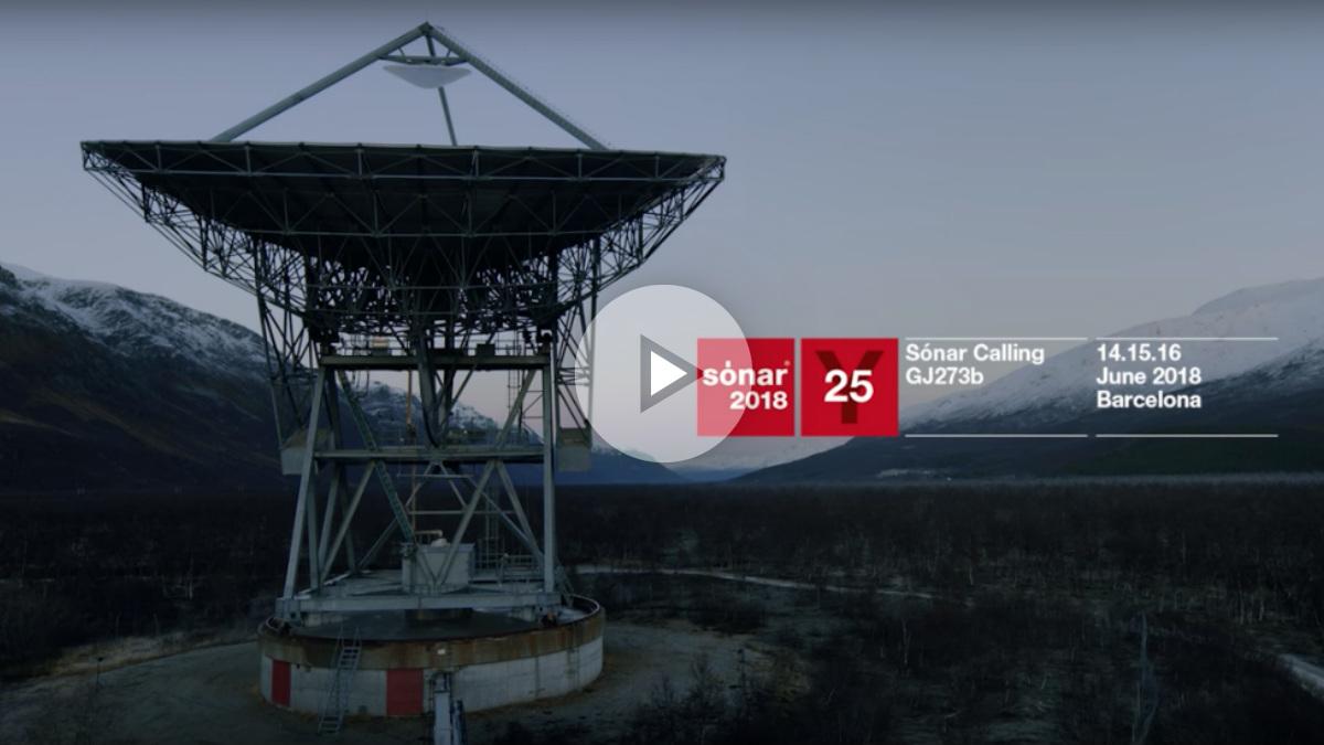 Sónar presenta su proyecto más ambicioso: 'Sónar Calling GJ273b'.