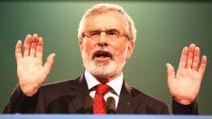 Gerry Adams en una reciente imagen (Foto: AFP).