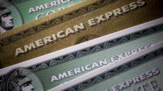 Tarjetas American Express.