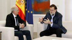Antonio Ledezma y Mariano Rajoy en el Palacio de La Moncloa. (Foto: EFE)