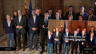 Puigdemont ha liquidado a Santi Vila en la nueva web oficial de su Govern imaginario.